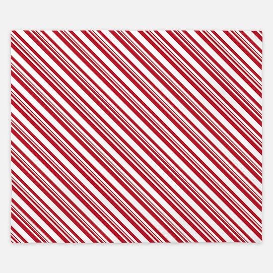 Candy Cane Stripe King Duvet