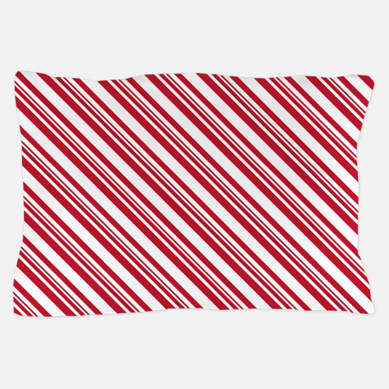 Candy Cane Stripe Pillow Case