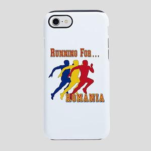 Romania Running iPhone 7 Tough Case