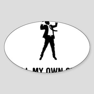 Success-03-A Sticker (Oval)