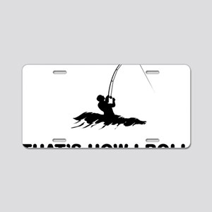 Surf-Fishing-12-A Aluminum License Plate