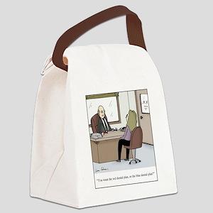 dental plans Canvas Lunch Bag