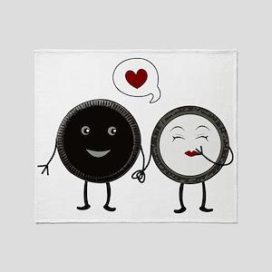 Cookie Love Throw Blanket