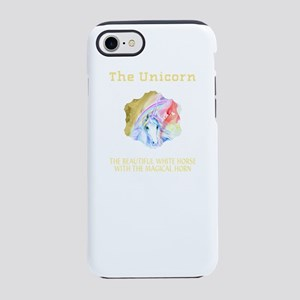 The Beautiful White Horse With iPhone 7 Tough Case