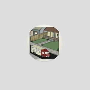 lawn care Mini Button