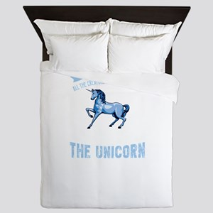 The First Animal God Named Is The Unic Queen Duvet