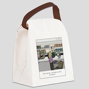 cashier Canvas Lunch Bag