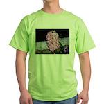 Snow Hyacinth Green T-Shirt