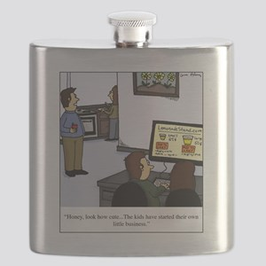 lemonade stand Flask