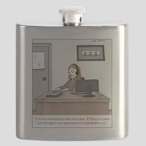 unspeakable evil Flask