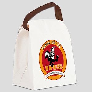 Skunk Design Canvas Lunch Bag