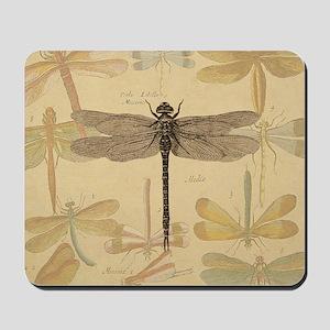 Dragonfly Vintage Mousepad