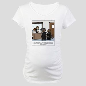 monkey business Maternity T-Shirt