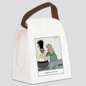 tattoo advertisement Canvas Lunch Bag