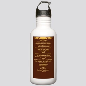 The Lords Prayer Wheat Stainless Water Bottle 1.0L