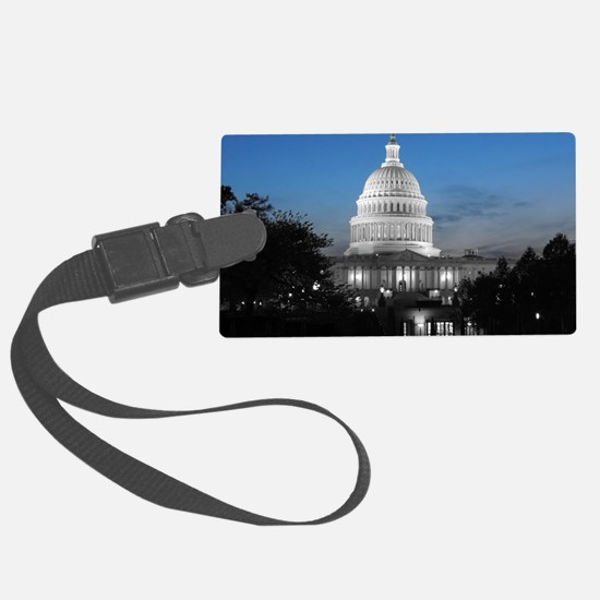 Capitol Hill Blue Luggage Tag
