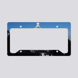 Capitol Hill Blue License Plate Holder