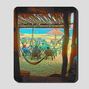 Cozumel Island End Tropical Mousepad