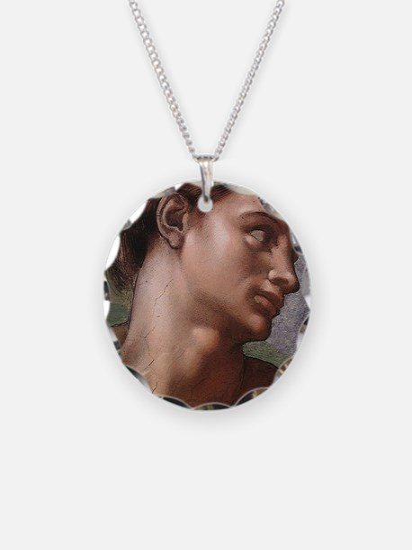 Michelangelo Creation of Ada Necklace