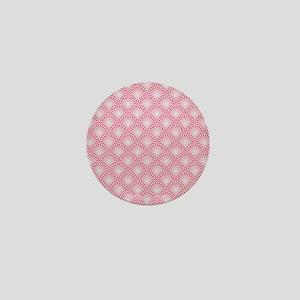 Shells pattern Mini Button