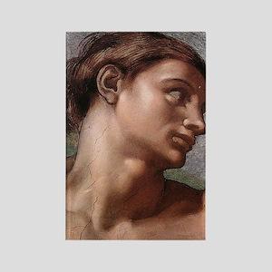 Michelangelo Creation of Adam Rectangle Magnet