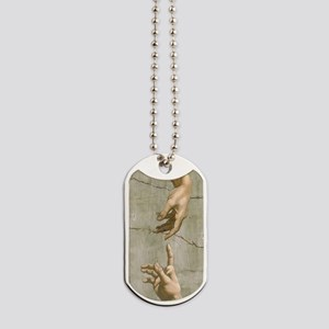 Michelangelo Creation of Adam Dog Tags