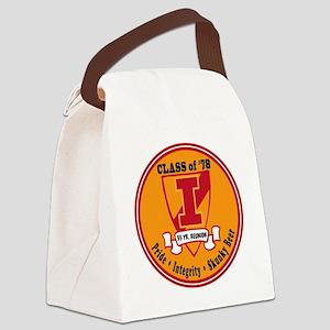 35 Yr. Reunion Canvas Lunch Bag
