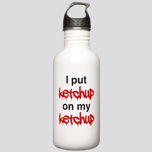 I put ketchup on my ke Stainless Water Bottle 1.0L