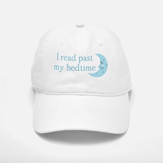 I read past my bedtime Baseball Baseball Cap