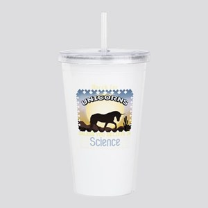 Great Unicorns Acrylic Double-wall Tumbler