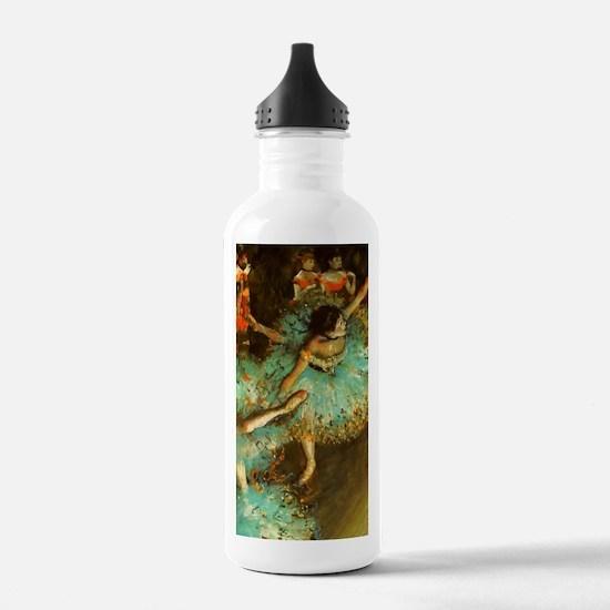 Degas Dancer Green Bal Water Bottle