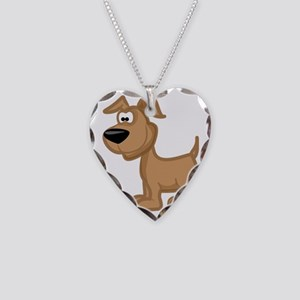 Animals so cute, youll poop y Necklace Heart Charm