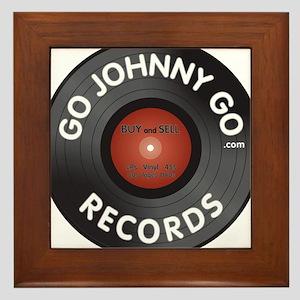 GJG Records LP Framed Tile