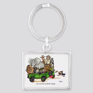 WE are READY too! Landscape Keychain