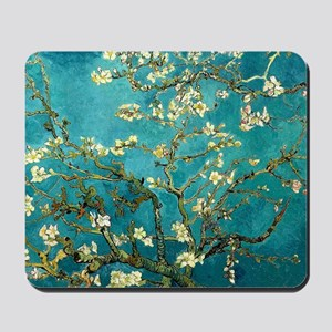 Van Gogh Almond Blossoms Tree Mousepad