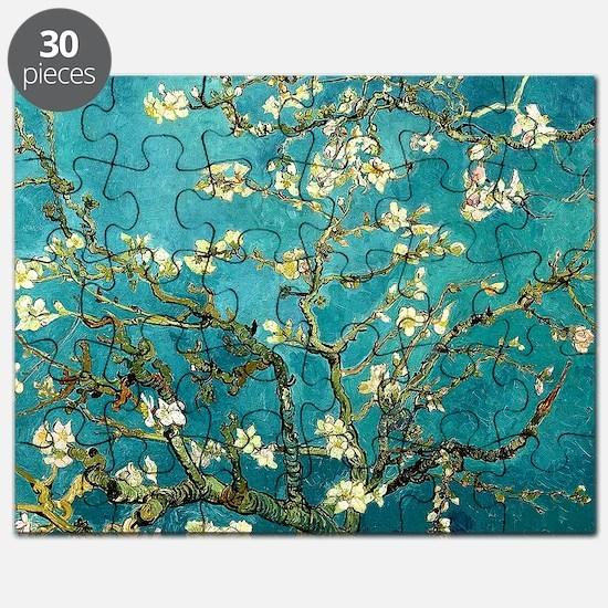 Van Gogh Almond Blossoms Tree Puzzle