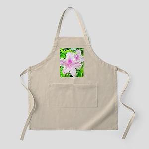 Electrifying Pink Daylilies Apron