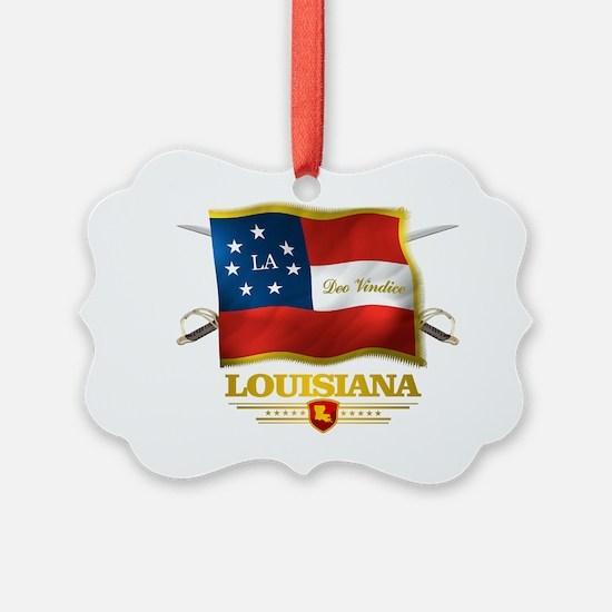 Louisiana -Deo Vindice Ornament