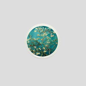 Van Gogh Almond Blossoms Tree Mini Button