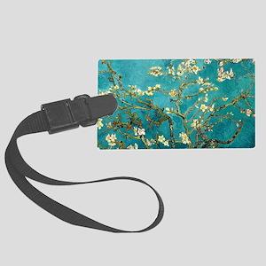 Van Gogh Almond Blossoms Tree Large Luggage Tag