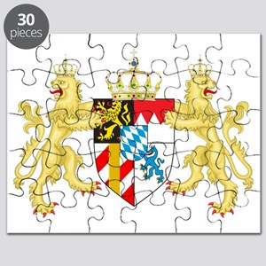Coat of arms of the Kingdom of Bavaria Puzzle