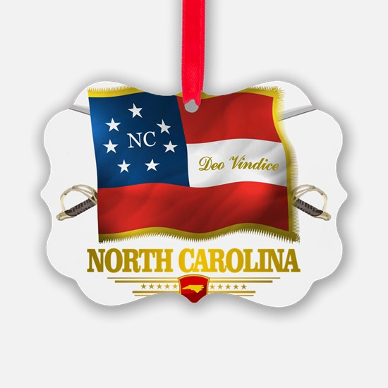 North Carolina -Deo Vindice Ornament