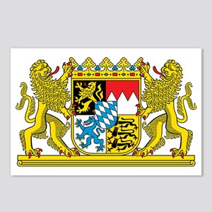 The coat of arms of the G Postcards (Package of 8)