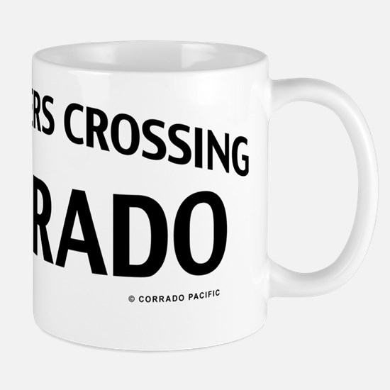Four Corners Crossing Colorado Mug