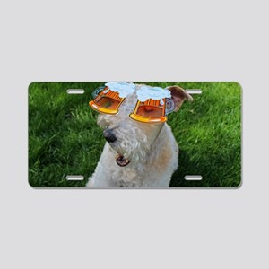 Beer Goggles Aluminum License Plate