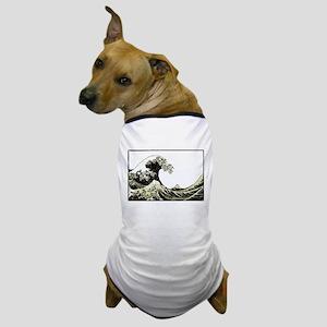 Hokusai Wave Dog T-Shirt