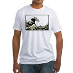 Hokusai Wave Fitted T-Shirt