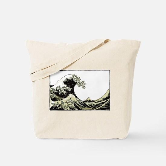 Hokusai Wave Tote Bag