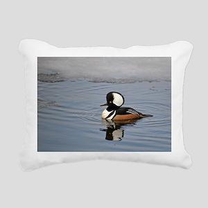 male hoodie Rectangular Canvas Pillow