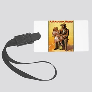 Ragged hero - US Lithograph - 1906 Luggage Tag